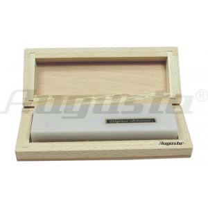 Arkansas-stone in wooden box