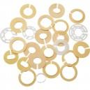 Sortiment værkholder ringe, 25 stk